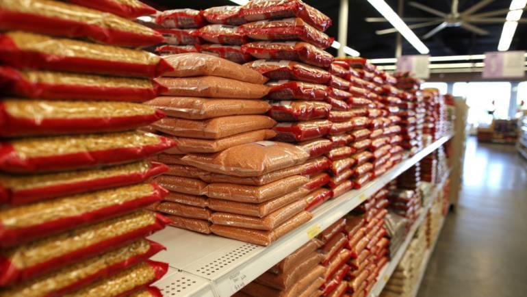 Lentils, Rice, Flour, & Spices