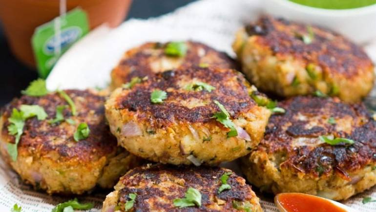 Pea, Potato, & Paneer Tiki Patties
